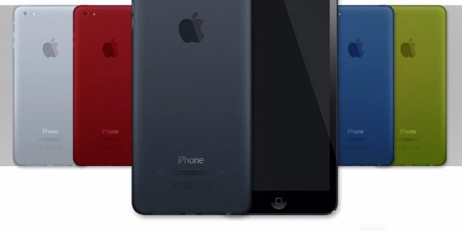 Concept d'un iPhone 5S inspiré de l'iPad mini