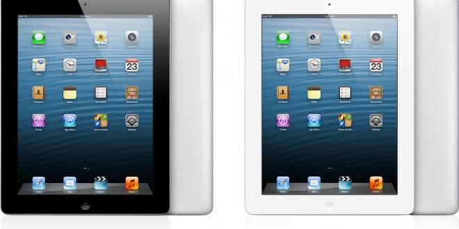 Apple annonce un iPad avec écran Rétina et 128 Go de mémoire