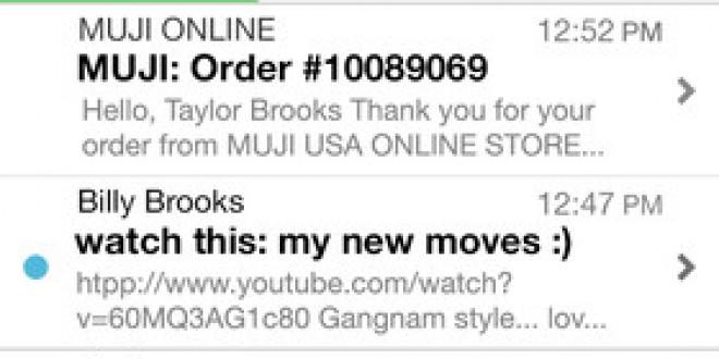 Mailbox est disponible sur l'App Store