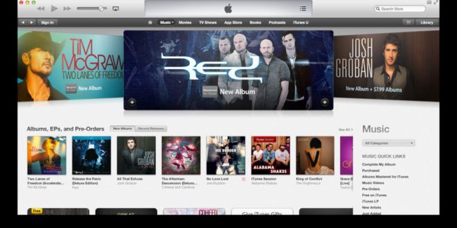 Apple a vendu plus de 25 milliards de morceaux de musique