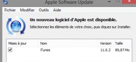 iTunes 11.0.2 est disponible !