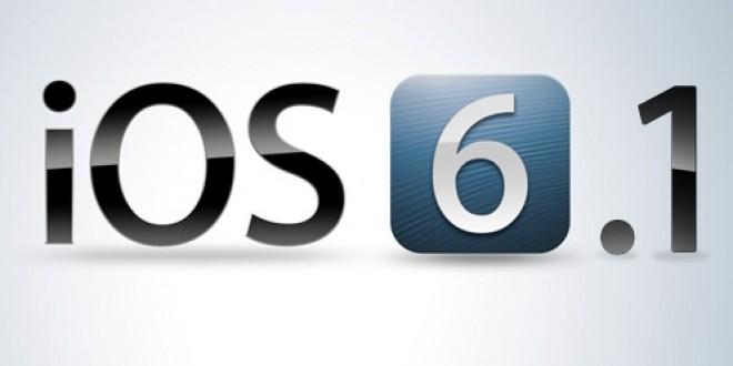 L'iOS 6.1.1 est disponible pour les iPhones 4S uniquement
