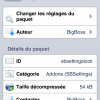 Cydia : Lock Toggle