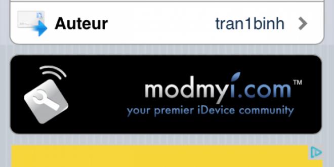 Cydia : AppCap
