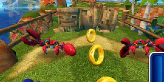 Sonic Dash debarque sur l'App Store
