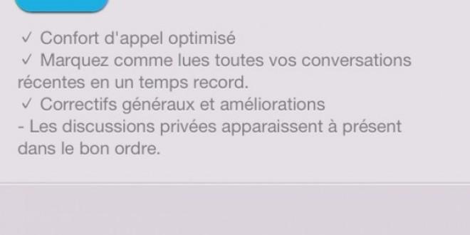 Skype iOS optimise le confort de vos appels