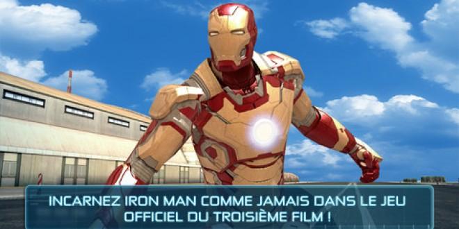 Gameloft lance son nouveau jeu Iron Man 3