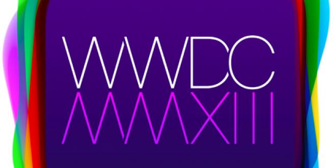 La WWDC 2013 aura lieu du 10 au 14 juin