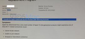 Problème de WiFi pour certain Apple TV