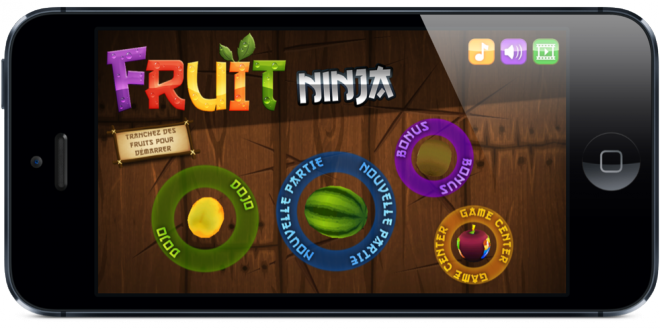 Application de la semaine : Fruit Ninja