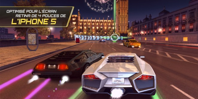 Application de la semaine : Asphalt 7 Heat