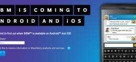 Blackberry Messenger disponible sur iOS et Android dès cet été !