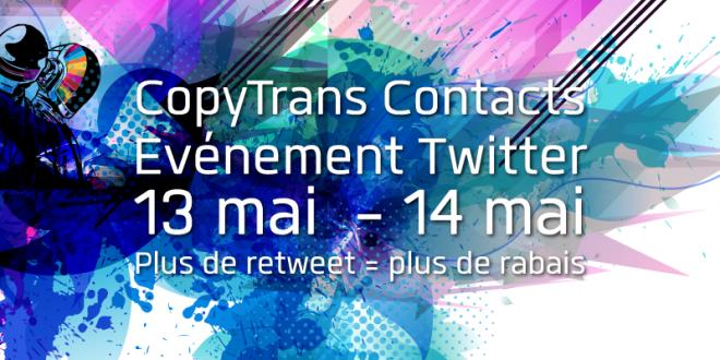 WindSolutions organise un jeu Twitter pour leur logiciel CopyTrans Contacts #ctces