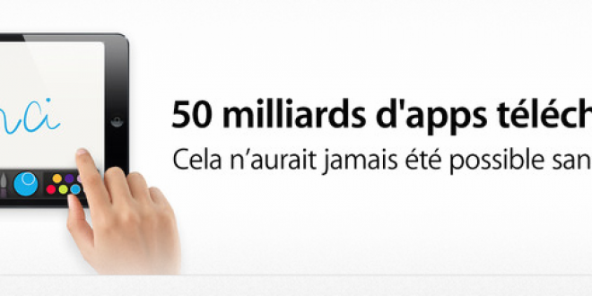 App Store : Le cap des 50 milliards d'applications téléchargées est passé !