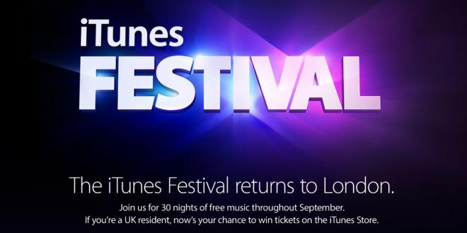 Apple dévoile l'iTunes Festival édition 2013