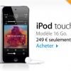 Vidéo du nouvel l'iPod touch 16 Go