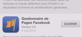 Le Gestionnaire de Pages Facebook passe en version 2.0