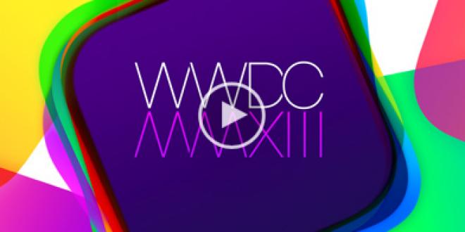 [Vidéo] Apple WWDC 2013