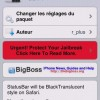 Cydia : TranslucentStatusBar for Safari