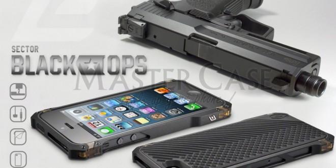 Le bumper iphone 5 Element Case Sector 5 Black Ops de chez Master Case