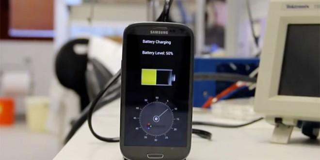 La batterie pour smartphone qui se recharge en 30 secondes