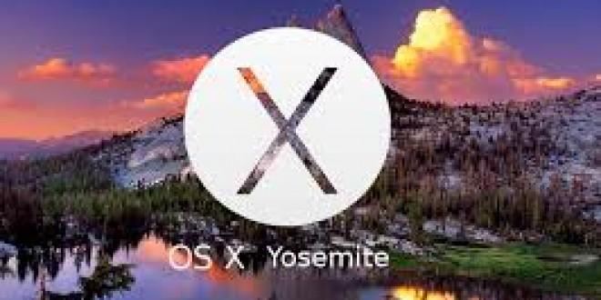 Du nouveau pour OS X 10.10 Yosemite