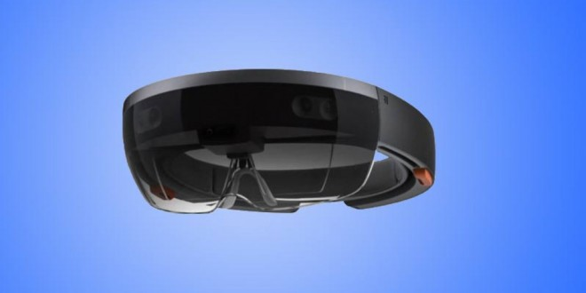 HoloLens ou les lunettes holographiques de MicroSoft