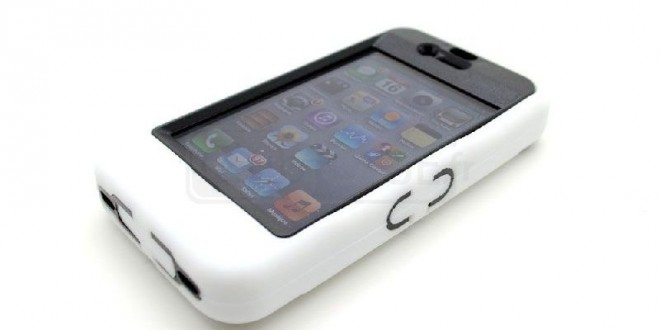 Test : Coque Antichoc + Support « ULTIMATE STAND » Protect TV iPhone 4S – 4 Blanche de chez Master Case