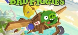 Bad Piggies est disponible sur l'AppStore