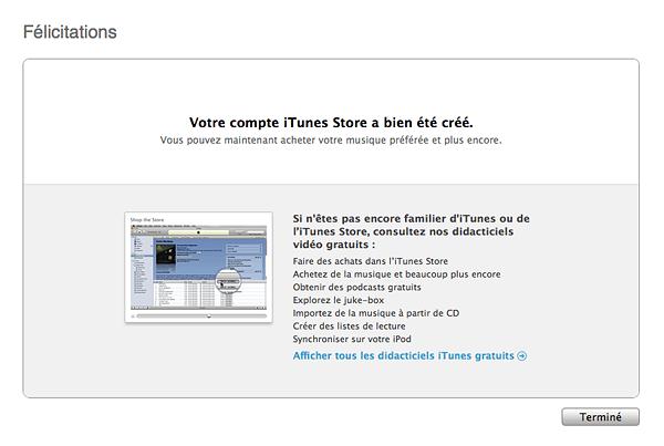Créer un <b>compte</b> iTunes <b>App</b> <b>Store</b> <b>sans</b> <b>carte</b> <b>bancaire</b>