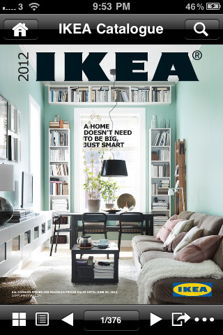 catalogue ikea 2012 disponible sur l appstore iphone astuces iphone 5 iphone 4s iphone 4. Black Bedroom Furniture Sets. Home Design Ideas