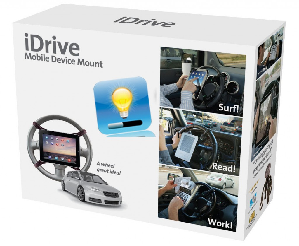 le support ipad idrive pour votre voiture iphone astuces iphone 5 iphone 4s iphone 4. Black Bedroom Furniture Sets. Home Design Ideas