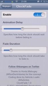 ClockFade